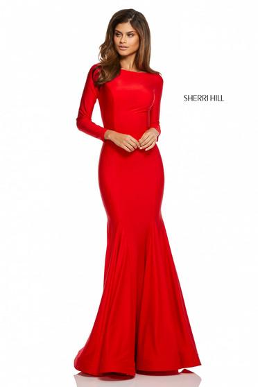 Rochie Sherri Hill 52785 Red