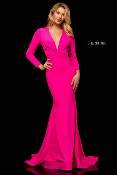 Rochie Sherri Hill 52788 Fuchsia