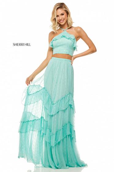 Rochie Sherri Hill 52798 Aqua