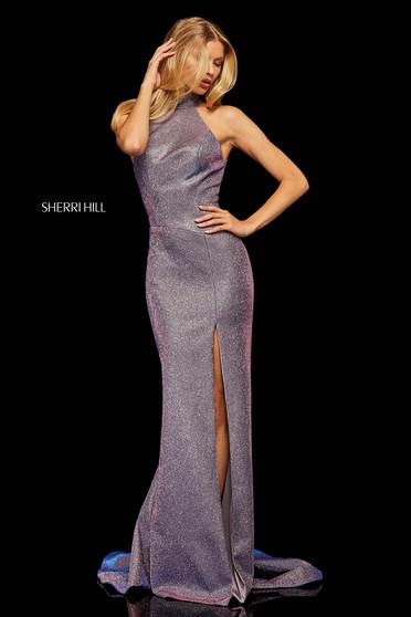 Rochie Sherri Hill 52826 Purple