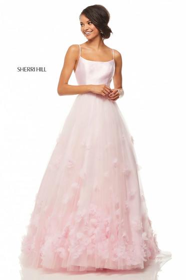 Rochie Sherri Hill 52828 Pink