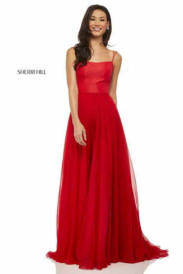 Rochie Sherri Hill 52839 Red