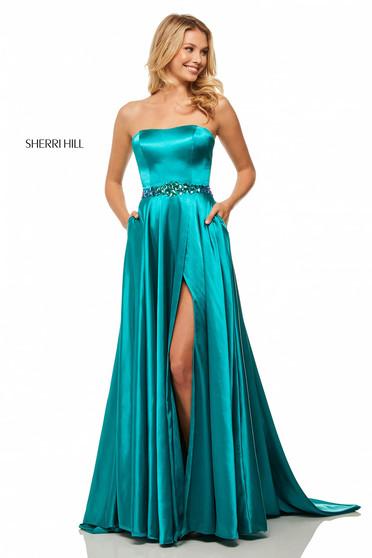 Rochie Sherri Hill 52841 Turquoise