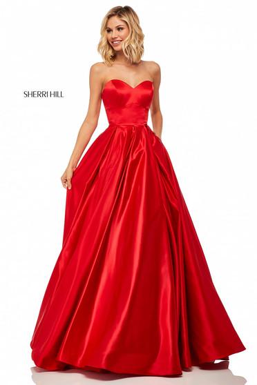 Rochie Sherri Hill 52850 Red