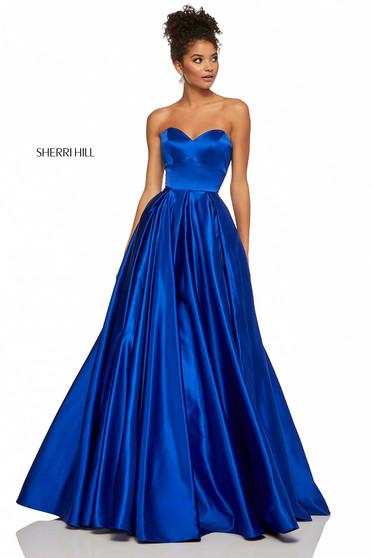 Rochie Sherri Hill 52850 Blue