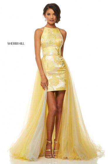 Rochie Sherri Hill 52859 Yellow