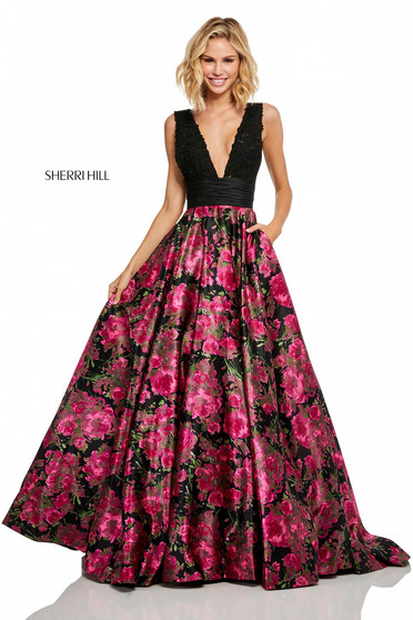Rochie Sherri Hill 52861 Black