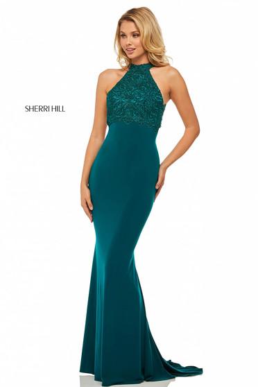 Rochie Sherri Hill 52901 Green