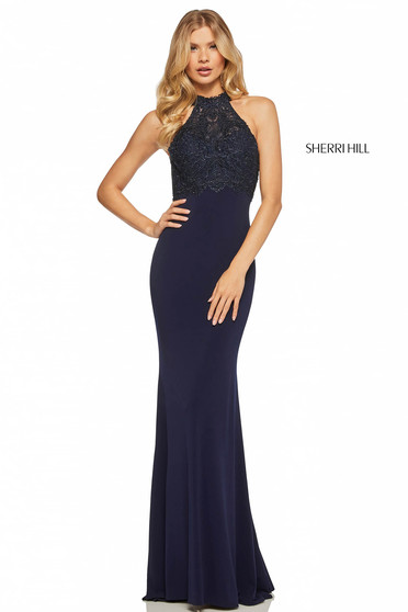 Rochie Sherri Hill 52901 Darkblue