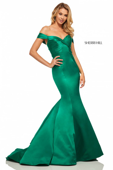 Rochie Sherri Hill 52895 Green