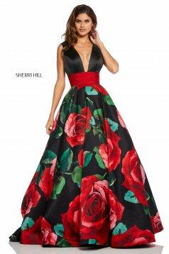 Rochie Sherri Hill 52898 Black