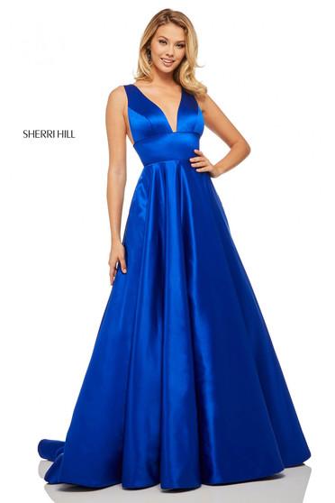 Rochie Sherri Hill 52911 royal