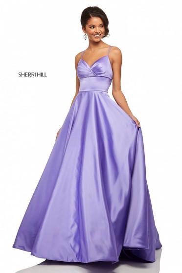 Rochie Sherri Hill 52926 lilac