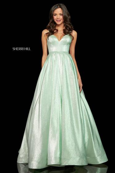 Rochie Sherri Hill 52956 mint