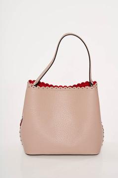 Geanta dama rosa office din piele naturala