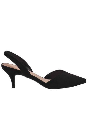Pantofi negru Top Secret cu varful usor ascutit