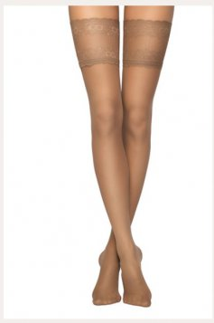 Brown women`s tights