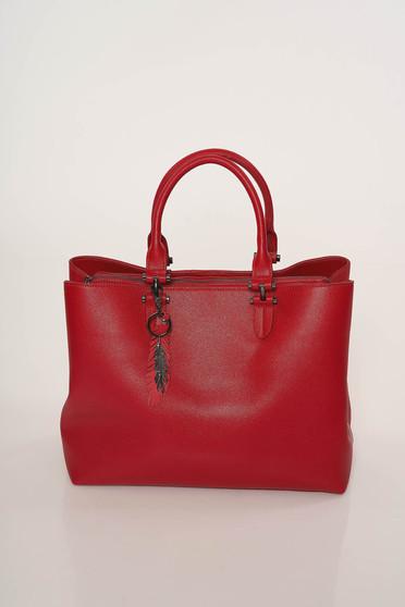 Geanta dama Top Secret rosie office din piele ecologica cu manere scurte