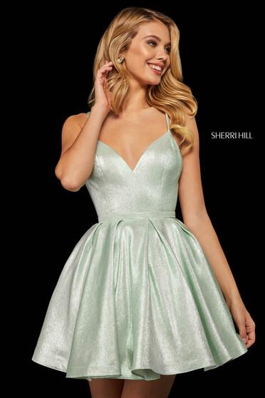 Rochie Sherri Hill 52985 mint