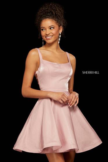 Rochie Sherri Hill 52986 rose