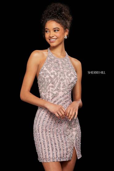 Rochie Sherri Hill 52992 rose
