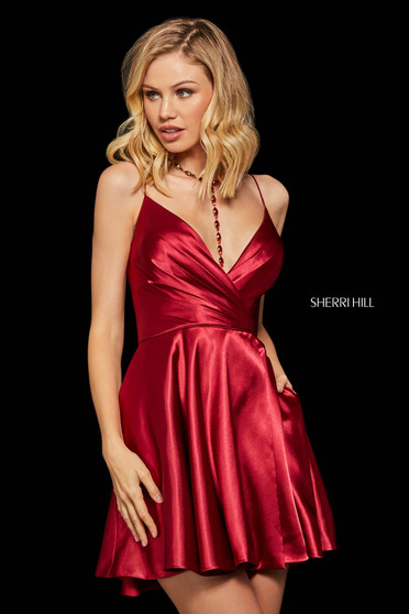 Rochie Sherri Hill 53031 wine