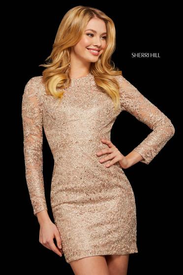 Rochie Sherri Hill 53101 rose