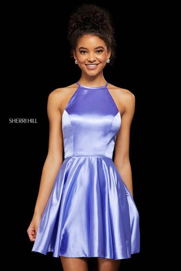 Rochie Sherri Hill 53127 lilac