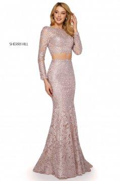 Rochie Sherri Hill 53247 blush