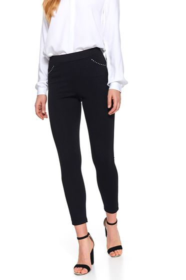 Colanti Top Secret S047339 Negru