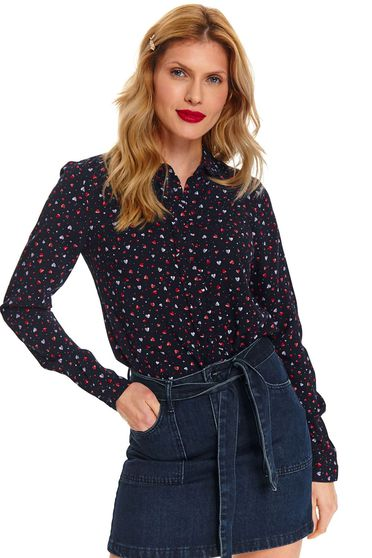 Camasa Top Secret S047782 DarkBlue