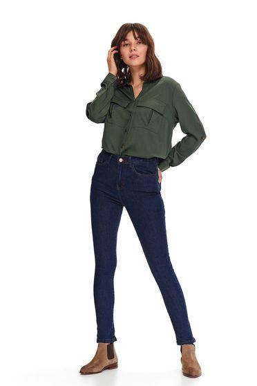 Pantaloni Top Secret S047815 Albastru