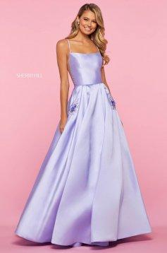 Rochie Sherri Hill 53407 lilac