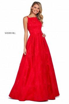 Rochie Sherri Hill 53462 red