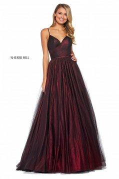 Rochie Sherri Hill 53480 wine