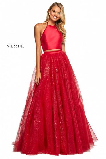 Rochie Sherri Hill 53500 red