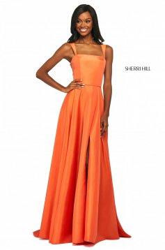 Rochie Sherri Hill 53561 orange