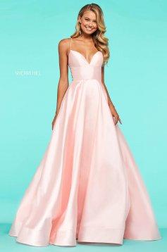 Rochie Sherri Hill 53661 blush
