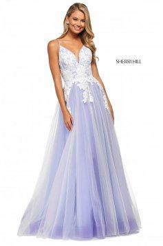 Rochie Sherri Hill 53730 lilac/ivory
