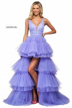 Rochie Sherri Hill 53733 lilac