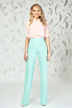 Mint elegant flared high waisted trousers