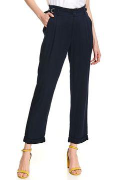 Pantaloni Top Secret albastru-inchis