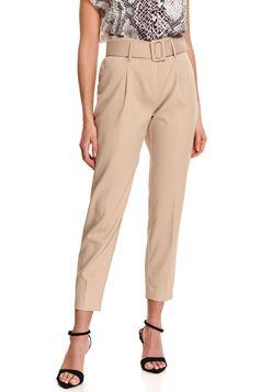 Pantaloni Top Secret crem