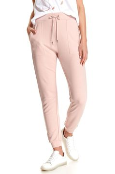 Pantaloni Top Secret roz deschis