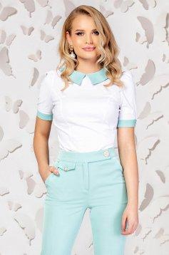 White women`s shirt