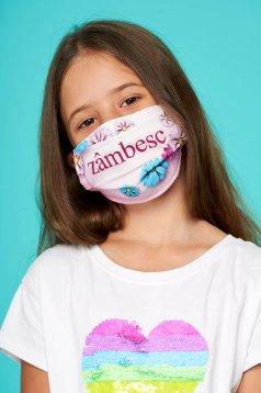 Masca textila pentru copii StarShinerS roz
