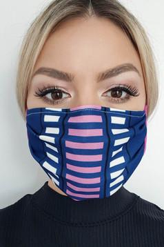 Masca textila StarShinerS albastru-inchis