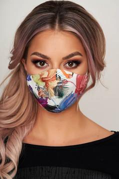 Masca textila pentru femei StarShinerS crem