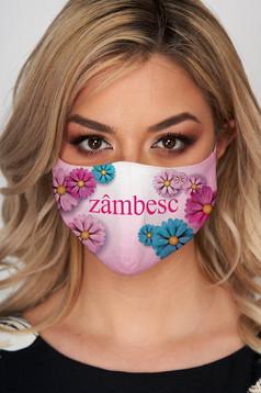 Masca textila pentru femei StarShinerS lila