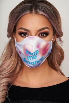 Masca textila pentru femei StarShinerS mov
